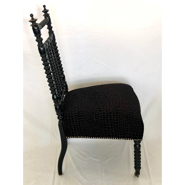 Early 20th Century Antique French Prayer Chair For Sale - Image 5 of 8