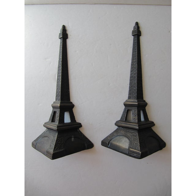Pair of Restoration Hardware Eiffel Tower Bookends.