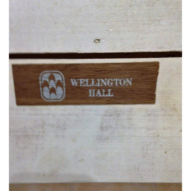 Wellington Hall Campaign Style King Headboard - Image 6 of 6