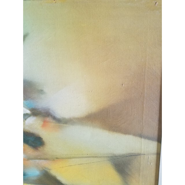 1969 Abstract Painting For Sale - Image 4 of 5