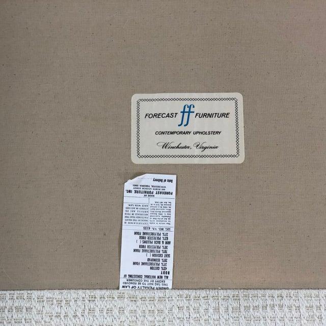 Mid Century Modern Milo Baughman Chrome Framed Love Seat For Sale - Image 10 of 11