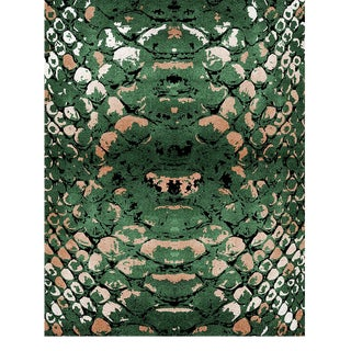 Reptilus Botanical Rug From Covet Paris For Sale