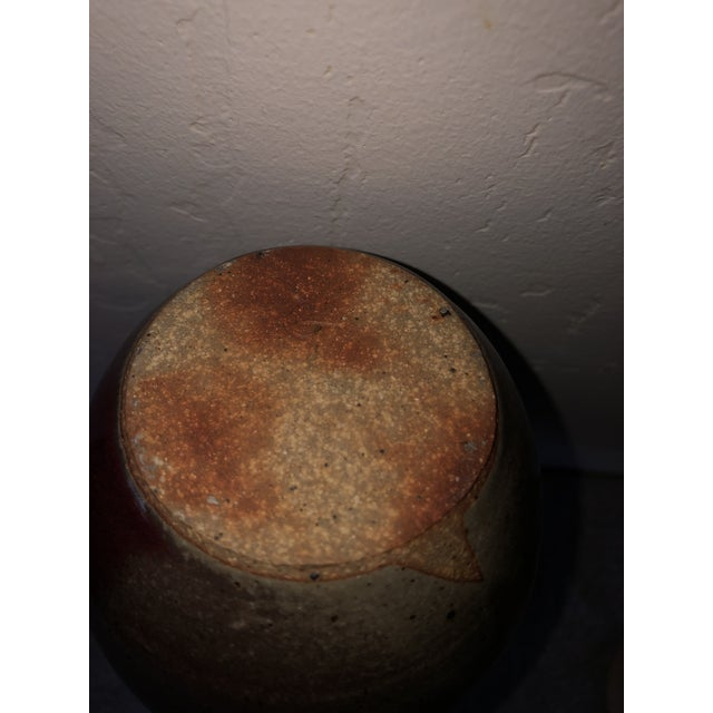 Modernist Stoneware Weed Pot For Sale - Image 6 of 7