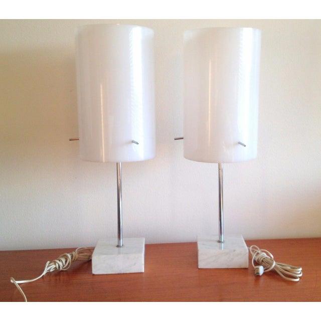 1960's Paul Mayen Habitat Table Lamps - Pair - Image 2 of 10
