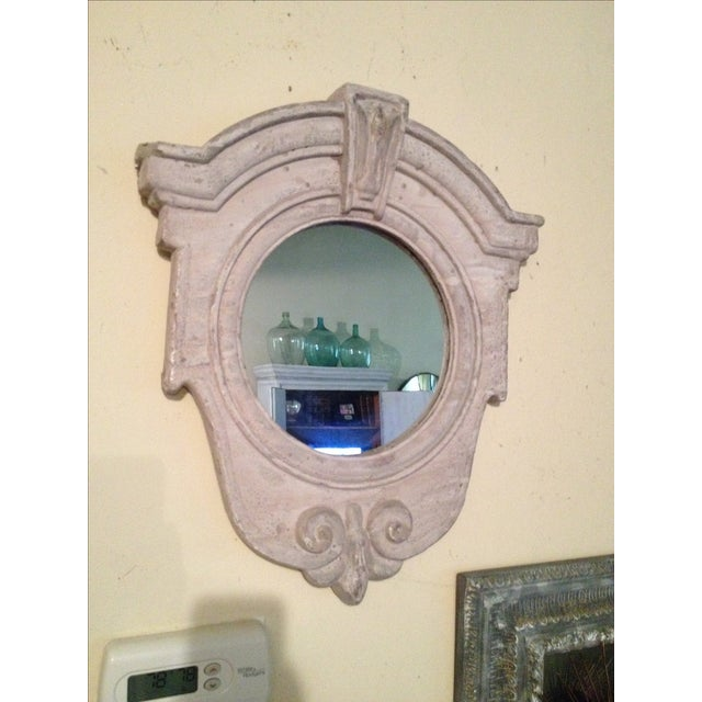 French Architectual Style Mirror For Sale In Houston - Image 6 of 6
