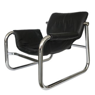 """Alpha"" Lounge Chair by Maurice Burke for Pozza For Sale"
