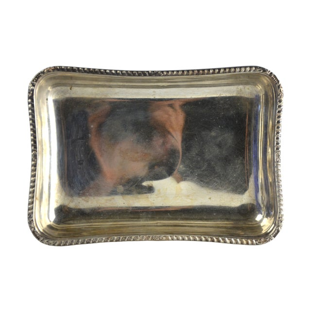 Vintage Petite Silver Tray - Image 2 of 5