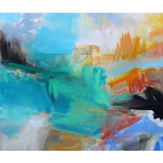 """""""Into the Mystic"""" by Trixie Pitts Large Abstract Oil Painting Preview"""