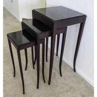 New! Barbara Barry for Baker Nesting Tables- 3 Pieces Preview