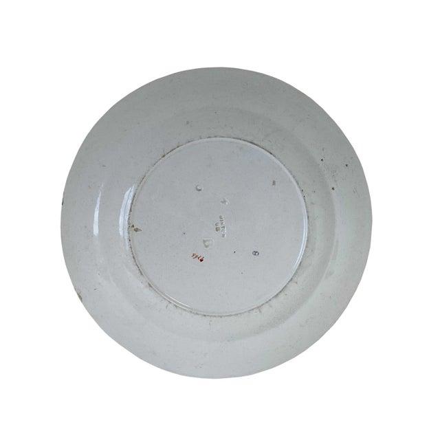 Ceramic Antique Minton Ironstone India Tree Plate For Sale - Image 7 of 9