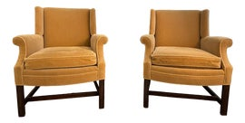 Image of Newly Made Hollywood Regency Accent Chairs