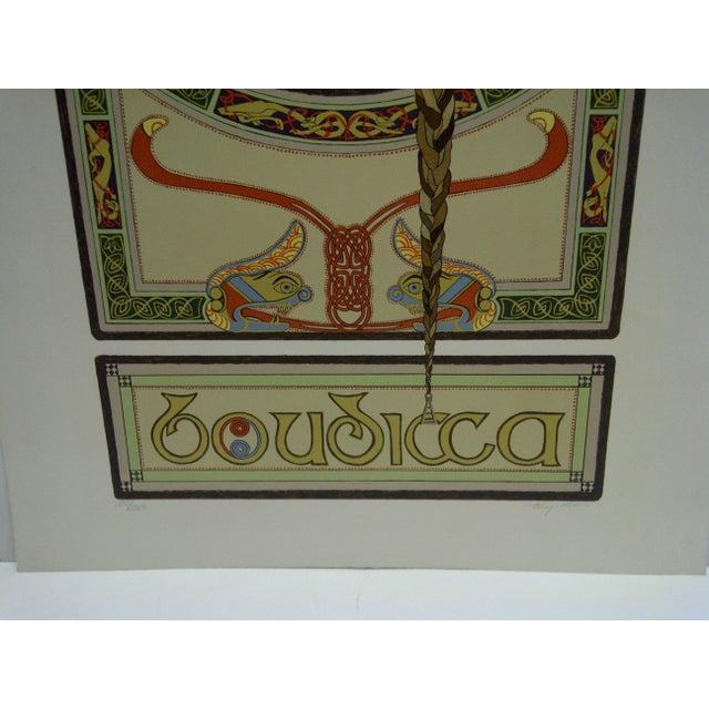 """Boudicca"" Signed Print For Sale - Image 4 of 6"