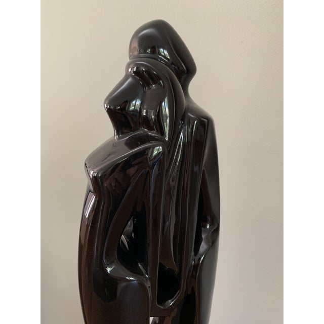 Abstract 1960s Vintage Jaru Style Abstract Nude Ceramic Sculpture For Sale - Image 3 of 5