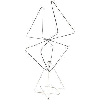 "Monumental Modernist ""Butterfly Chair"" Iron Sculpture Jorge Ferrari-Hardoy For Sale"