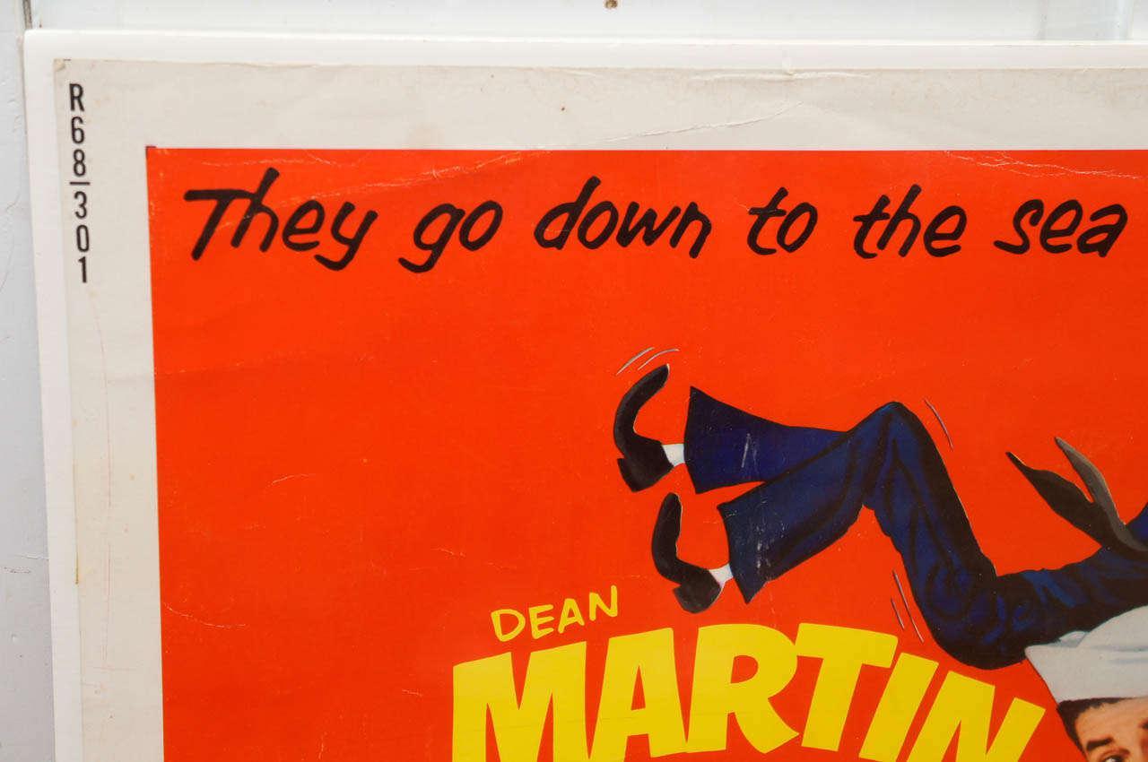 Vintage Look Metal Sign 1952 Sailor Beware Dean Martin Jerry Lewis