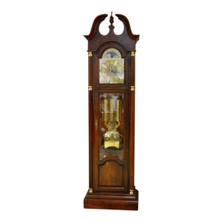 Howard Miller Clock Co. Traditional Style Mahogany Grandfather's Clock
