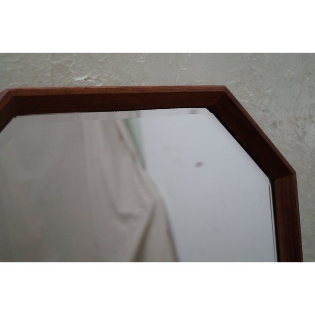 George Nelson for Herman Miller Walnut Frame Wall Mirrors - Pair - Image 9 of 10
