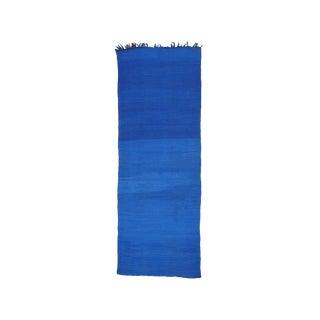 Rare Blue Beni Mguild Kilim (Dk-106-51) For Sale