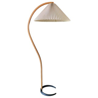 Bentwood Floor Lamp by Mads Caprani of Denmark, Circa 1971 For Sale