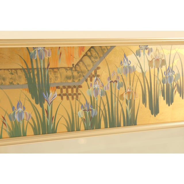 La Barge La Barge Chinoiserie Style Mirror, Signed C. Adams For Sale - Image 4 of 13