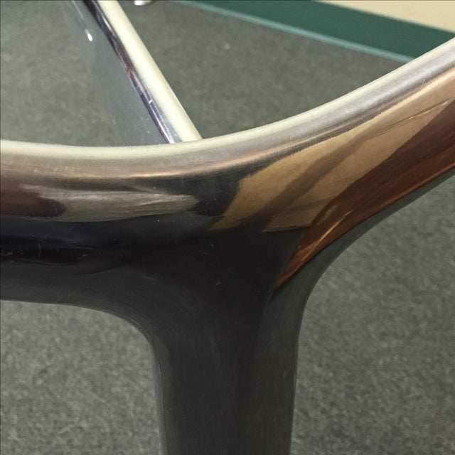 Chrome & Glass Cassina Table - Image 8 of 11