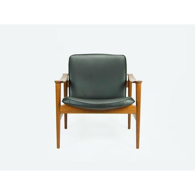 Danish Modern 1950s Vintage Fredrik Kayser for Vatne Lenestolfabrik Model 711 Lounge Chair For Sale - Image 3 of 13