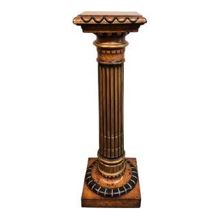 Baker Furniture Burlwood Pedestal