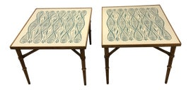 Image of Celadon Side Tables