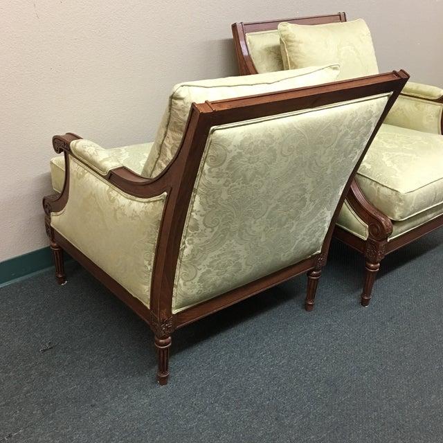 Ethan Allen Fairfax Arm Chairs - A Pair - Image 7 of 11