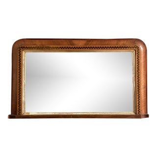 19th Century Arun Bridge Style Inlaid Mirror For Sale