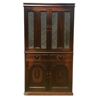 20th Century Art Deco Wood Cabinet