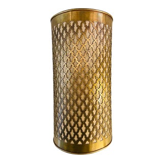 Moroccan Brass Wall Lantern / Sconce For Sale