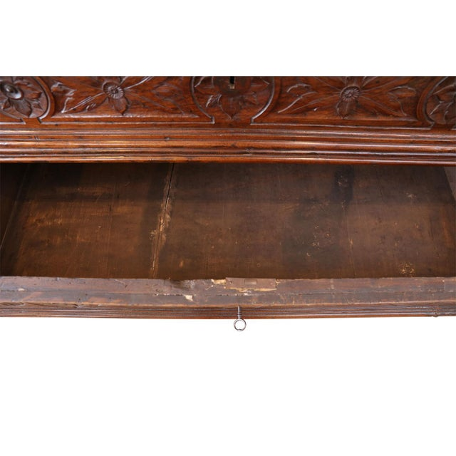 Brown 17th Century Chest-Of-Drawers For Sale - Image 8 of 12