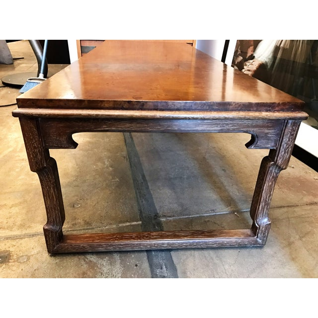 1960s 1960s American Tomlinson Walnut Coffee Table For Sale - Image 5 of 11