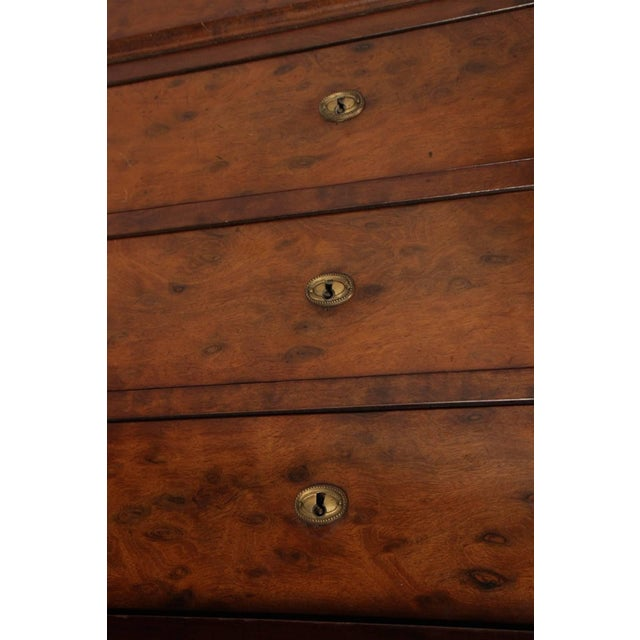 French Empire Mahogany Marble Top Commode, Circa 1870 For Sale In Savannah - Image 6 of 8