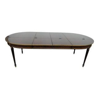 20th Century Regency Dining Room Table For Sale