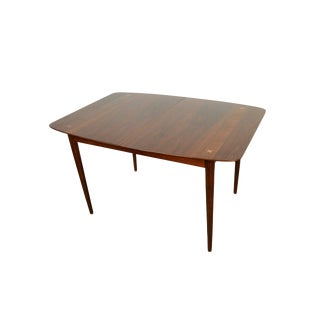 American of Martinsville Walnut Dining Table For Sale