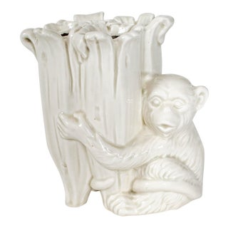 Fitz and Floyd Monkey Vase For Sale