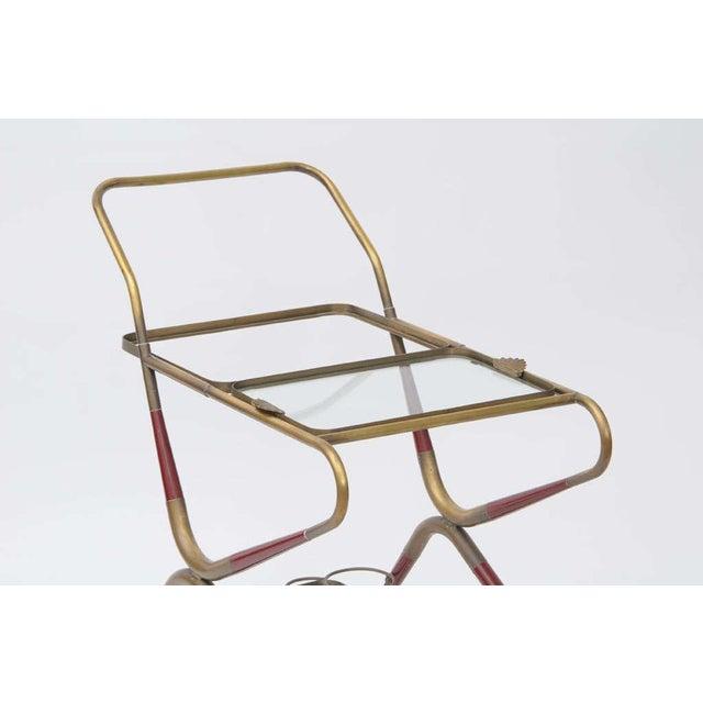Cesare Lacca Italian Bar Cart For Sale - Image 9 of 10