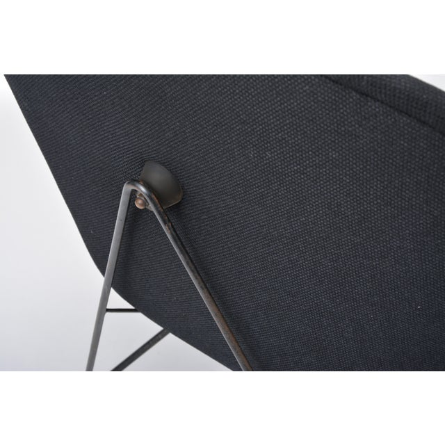 Mid 20th Century Black Italian Cosmos Lounge Chair by Augusto Bozzi for Saporiti For Sale - Image 5 of 11