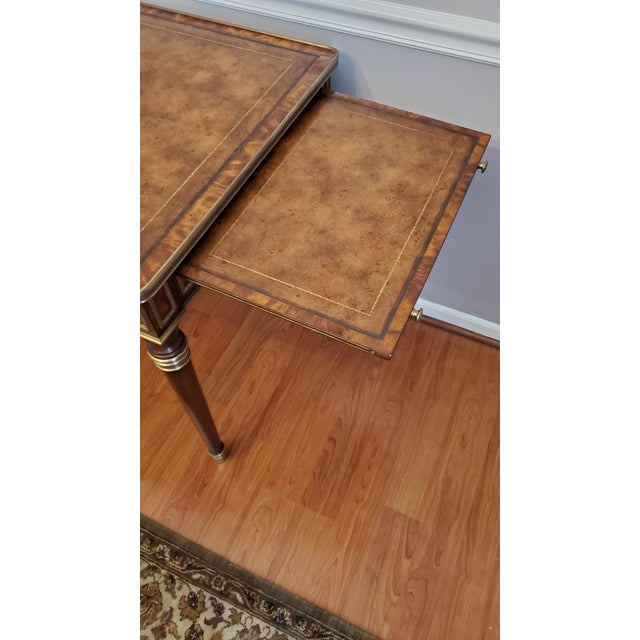 """Chestnut Theodore Alexander """"Tales From France Writing Desk"""" For Sale - Image 8 of 13"""