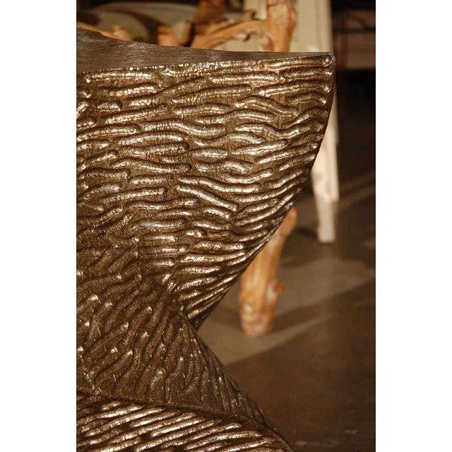 Paul Marra Modern Paul Marra Twist Side Table For Sale - Image 4 of 9