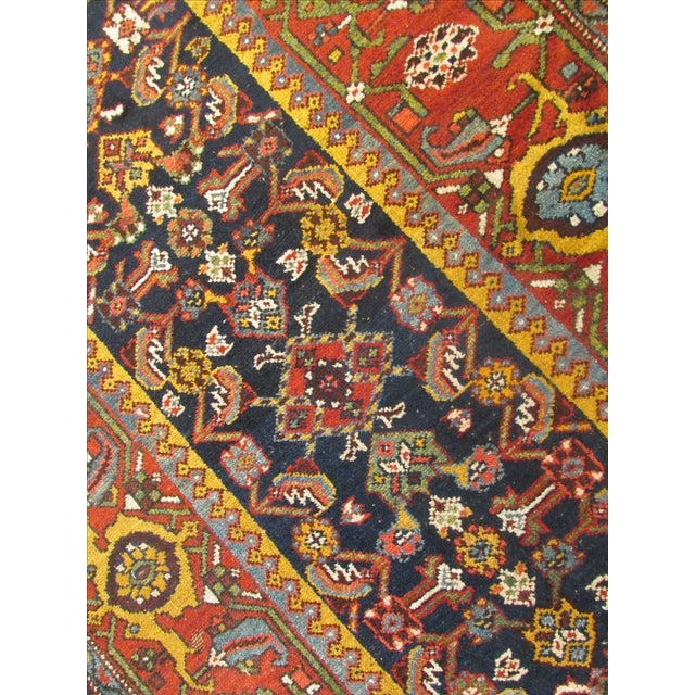 Antique Persian Kurdish Runner - 3′8″ × 16′5″ For Sale - Image 9 of 9