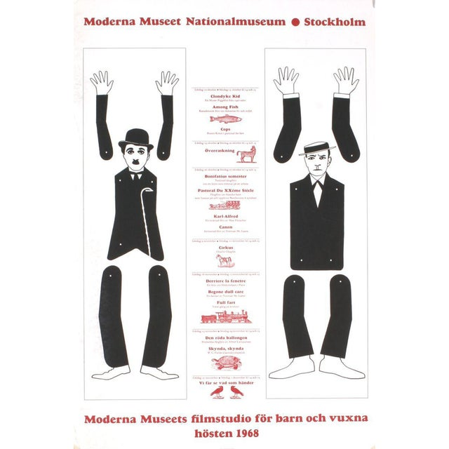 1968 Red Grooms Moderna Museet Stockholm Lithograph - Image 1 of 2