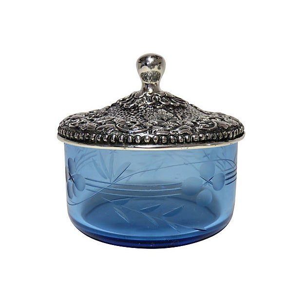 1937 Coin Silver Victorian Condiment Pot - Image 5 of 7