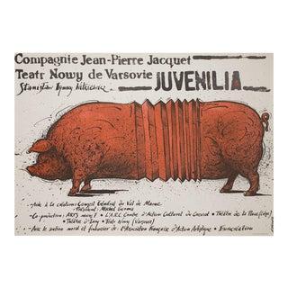 Juvenilia 1989 Polish B1 Theatre Poster For Sale