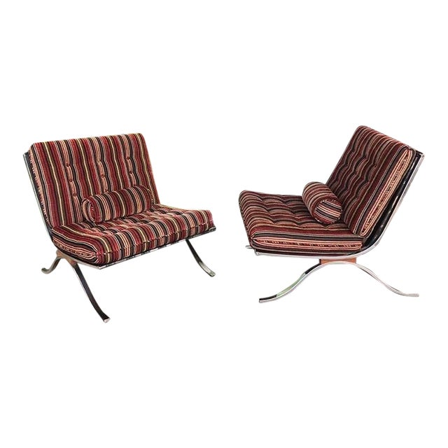 Mid Century Modern Selig Chairs- a Pair For Sale