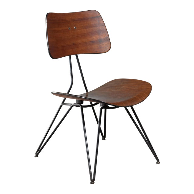 Gio Ponti Du10 Chair for Rima, Italy, 1950s For Sale