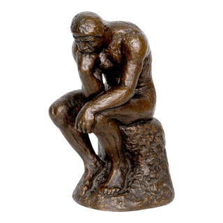 """Austin Productions, After Rodin, """"The Thinker"""", Bronze Sculpture For Sale"""