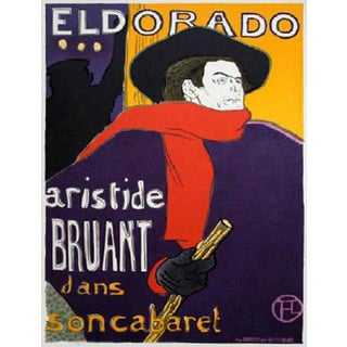 1966 Mourlot Toulouse Lautrec Eldorado Lithograph 6 For Sale
